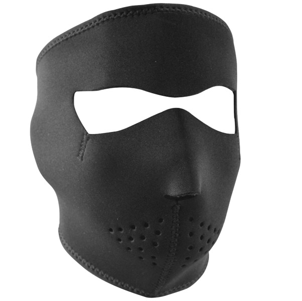 ZAN headgear Black Neoprene Face Mask