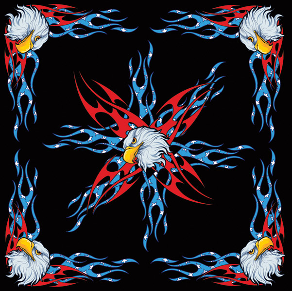 ZAN headgear USA Eagle Bandanna