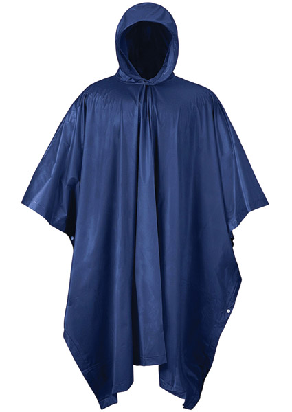 Mossi Navy Blue Emergency Poncho