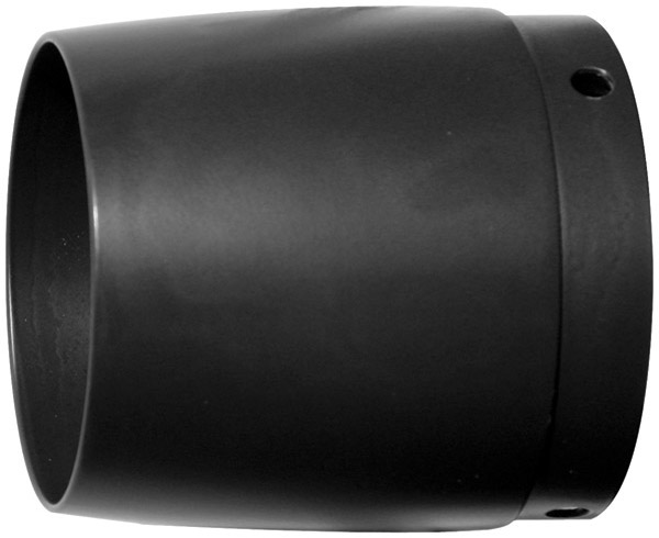 Rush 4″ Smooth OEM Taper Black Exhaust Tip