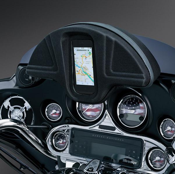 Single Pocket Windshield Bag for Smartphones for HD Touring Models
