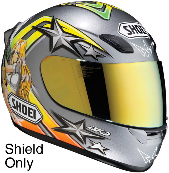 Shoei CW-1 Gold Spectra Shield