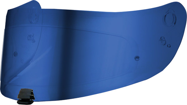 HJC Pinlock Color Mirror-Coated Shields Blue