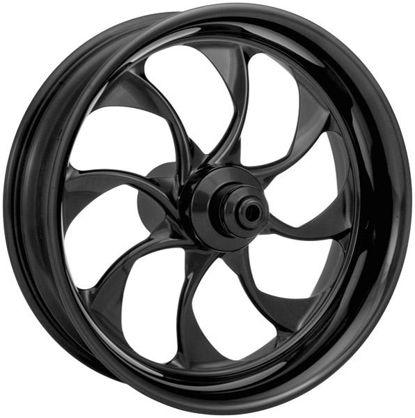 Xtreme Machine Turbo Black Anodized Rear Wheel, 18