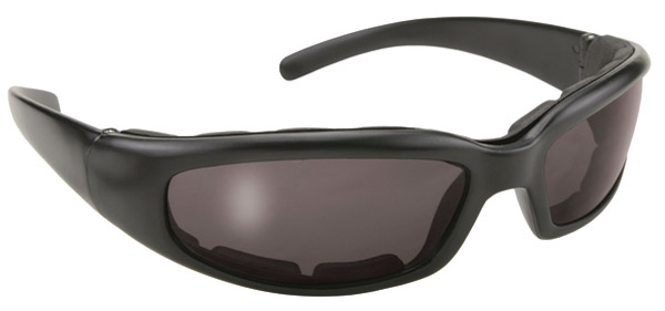 KD's Padded Rally Black Framed with Smoke Lens Sunglasses