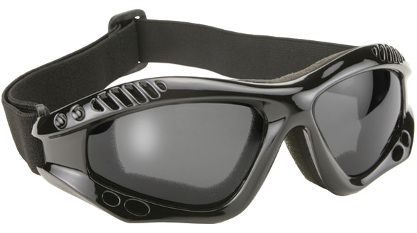 KD's Turbo Polarized Gray Lens Goggles