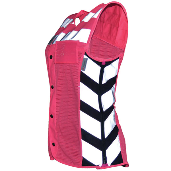 Missing Link Women′s Meshed Up Safety Vest