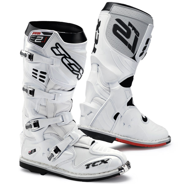 TCX Pro 2.1 White Riding Boots
