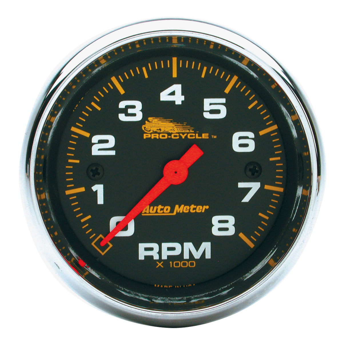 auto meter pro cycle street tachometer 570 020 j p cycles rh jpcycles com Quick Car Tach Wiring Diagram Quick Car Tach Wiring Diagram