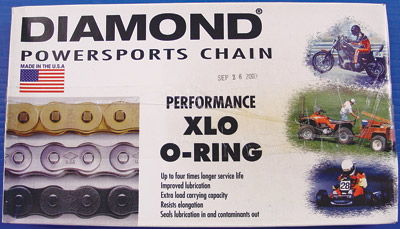 Diamond Chain Company XDL Replacement Master Link