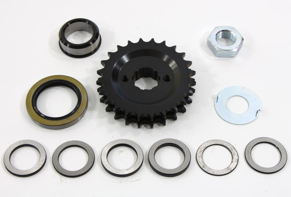 Solid Motor Sprocket Conversion 24 Teeth Kit