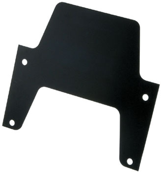 Chris Products Black Inspection Sticker Plate