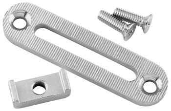 J&P Cycles® Primary Chain Adjuster Plate Kit