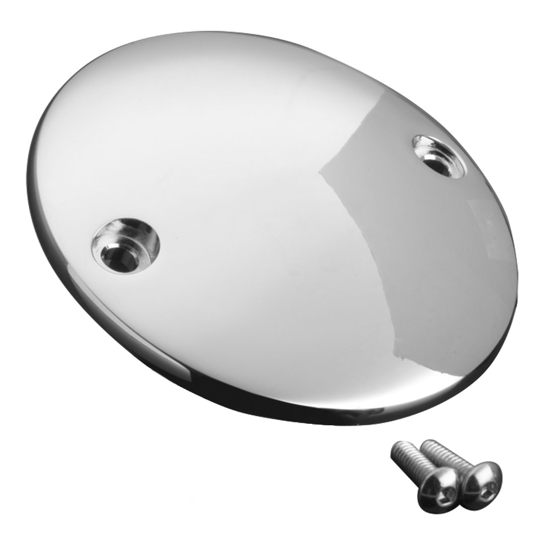 J&P Cycles® Chrome Domed Points Cover