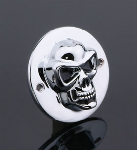 J&P Cycles® 3-D Skull Points Cover