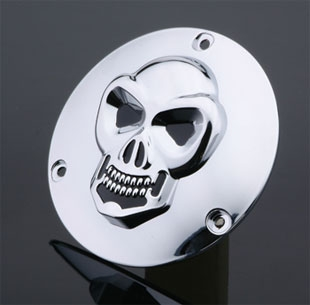 J&P Cycles® 3-D Skull Derby Cover