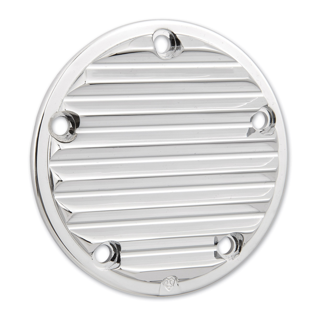 Arlen Ness 5-Hole Retro Chrome Point Cover for Twin Cam
