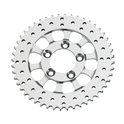 Performance Machine Polished Stainless Steel Sprocket Disc