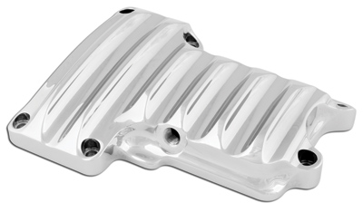 Roland Sands Design Chrome Transmission Cover for Twin Cam
