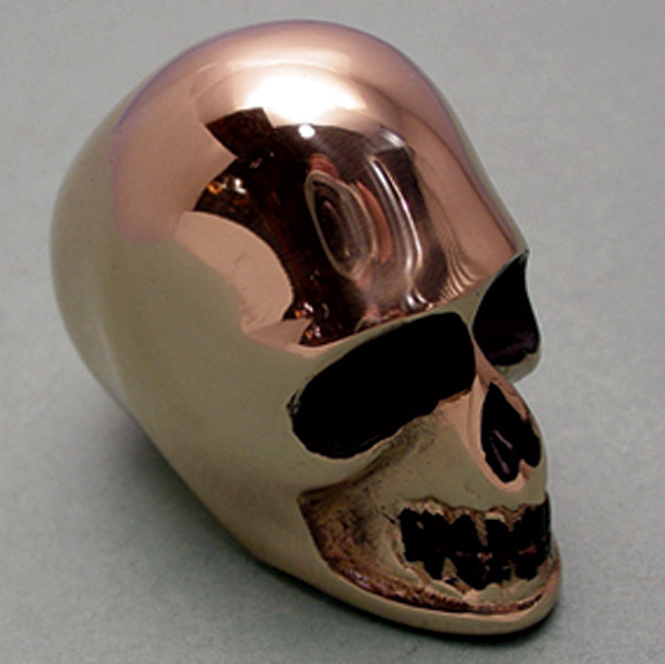V-Twin Manufacturing Skull Hand Shift Knob