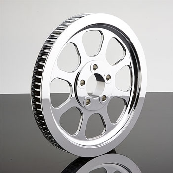 Drag Specialties Chrome Rear Pulley