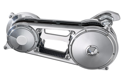 Performance Machine Chrome Primary for Softail with Phatail Kit
