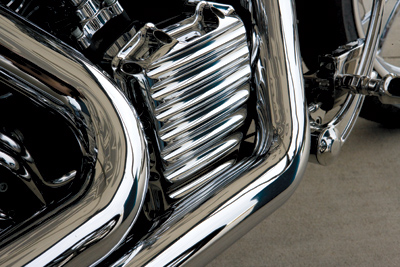Roland Sands Design Chrome Nostalgia Cam Cover for Twin Cam