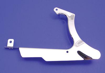 V-Twin Manufacturing Chrome Lower Belt Guard
