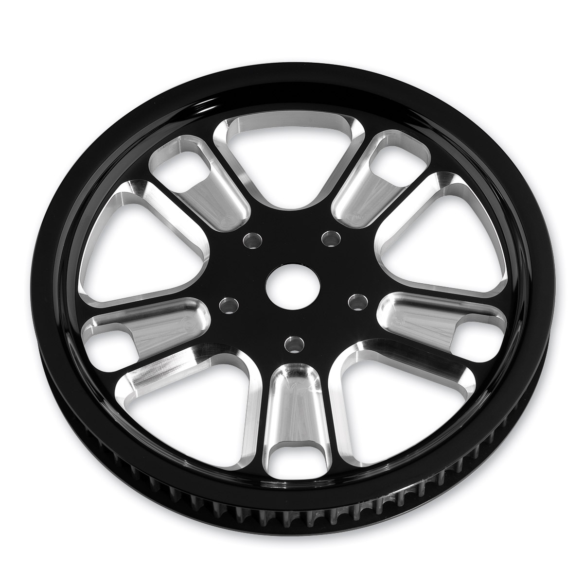 Roland Sands Design Judge Contrast Cut 66T Forged Aluminum Pulley