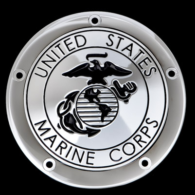 CAT LLC USMC Black Derby Cover