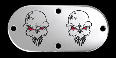CAT LLC Evil Skull Inspection Cover