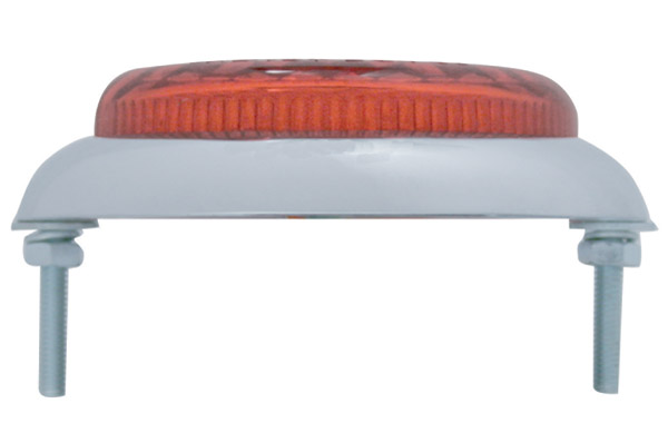 Pro-One Round Flush Mount LED Taillight with Red Lens