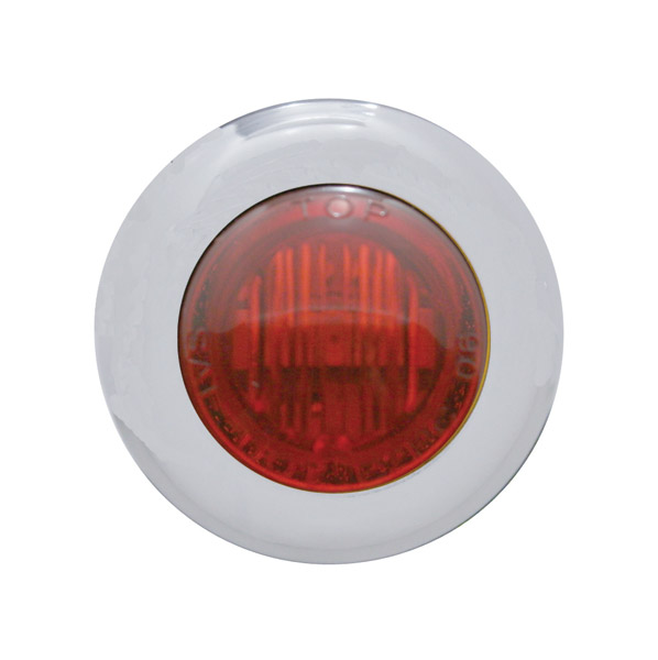 Pro-One Red LED with Clear Lens Mini Marker Lights