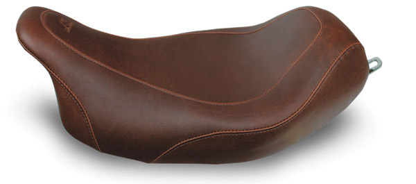 Mustang Brown Wide Tripper Solo Seat
