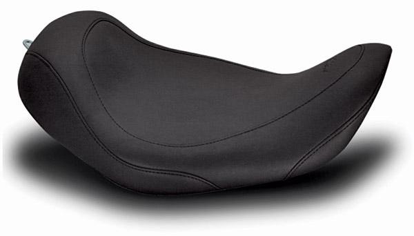 Mustang Black Wide Tripper Solo Seat
