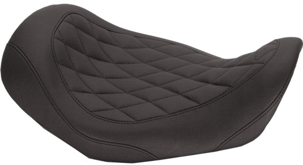 Mustang Wide Tripper Solo Seat with Diamond Stitching