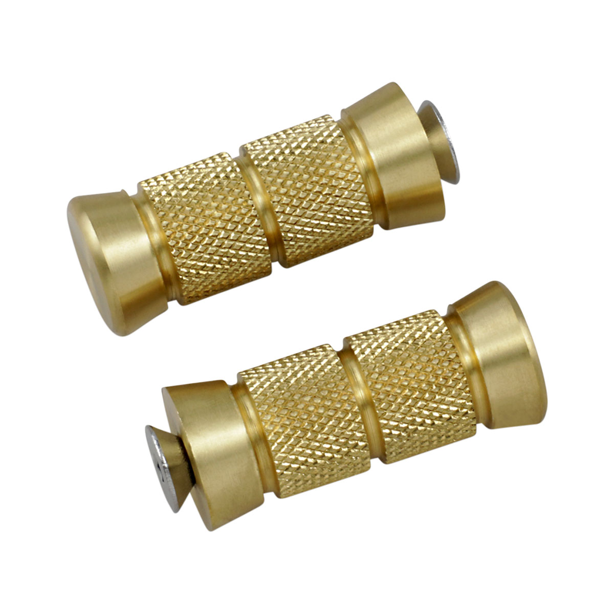 Accutronix Knurled Brass Toe Pegs