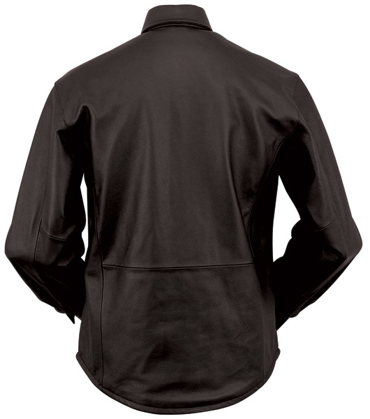First Manufacturing Co. Men's Concealment Leather Shirt