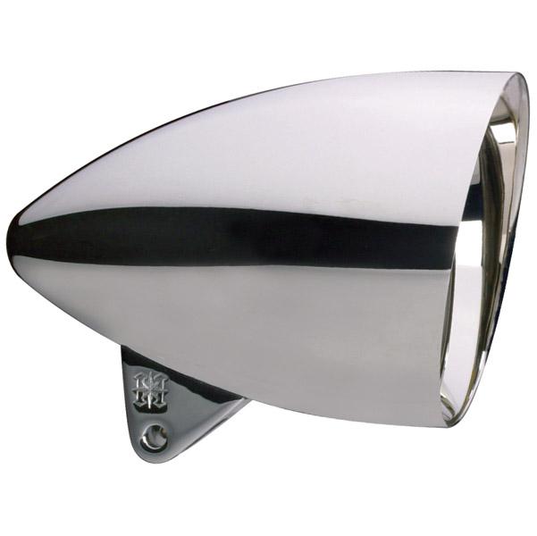 Headwinds 5-3/4″ Chrome Slash-Cut Concours Rocket Headlights
