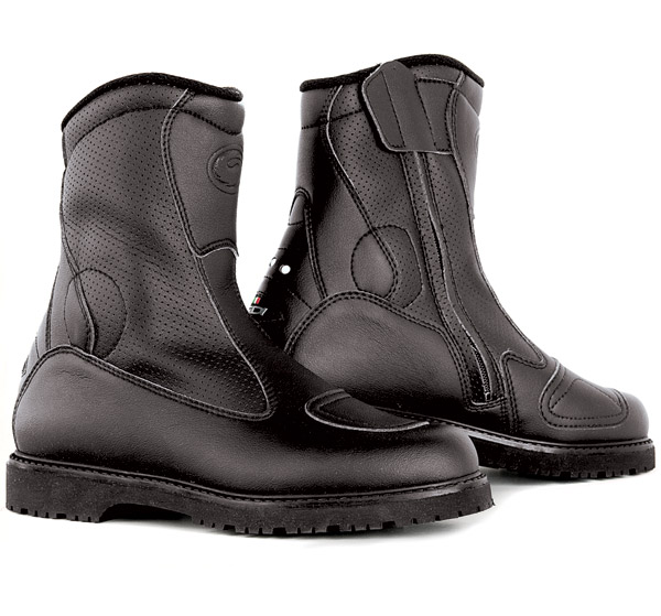 SiDi Black Traffic Rain Riding Boots