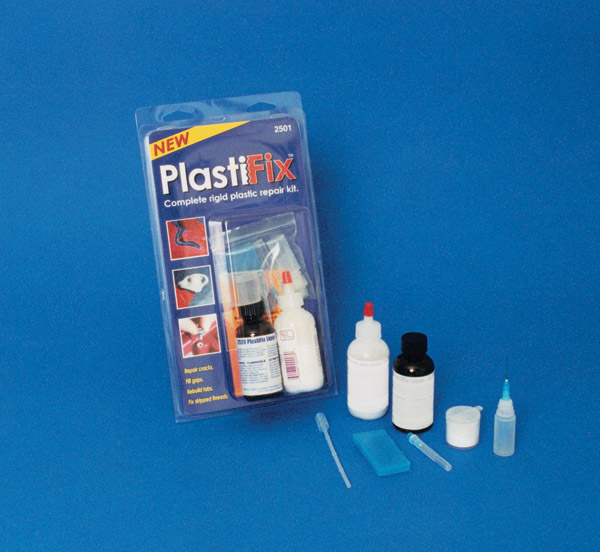 Eastwood Company Black Rigid Plastic Repair Kit