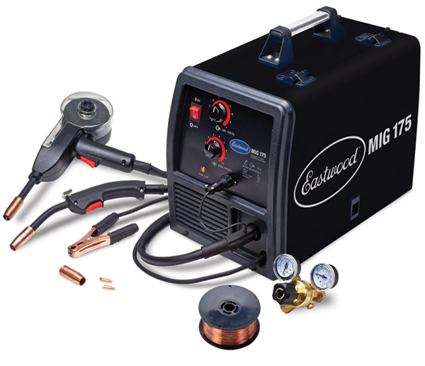 Eastwood Company 175 Amp MIG Welder With Spool Gun