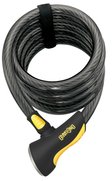OnGuard Doberman Coil Cable Locks 6′L x .59″W