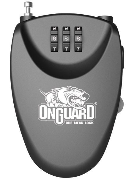 OnGuard Terrier Roller Ultra-Compact Retractable Cable Lock