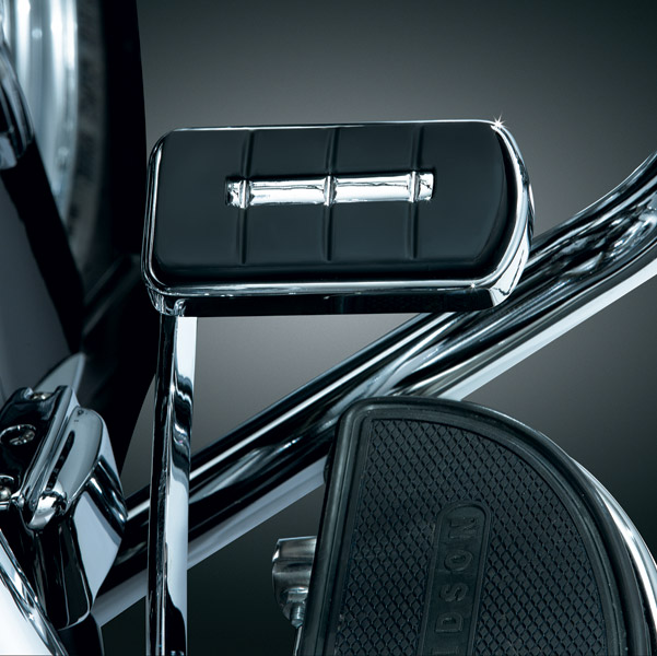 Kuryakyn Chrome ISO Deluxe Brake Pedal Pad - 7589