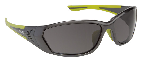 BANGERZ Baffle Gunmetal and Lime Sunglasses
