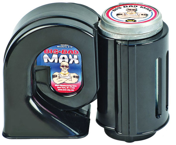 Wolo Big Bad Max Black Air Horn