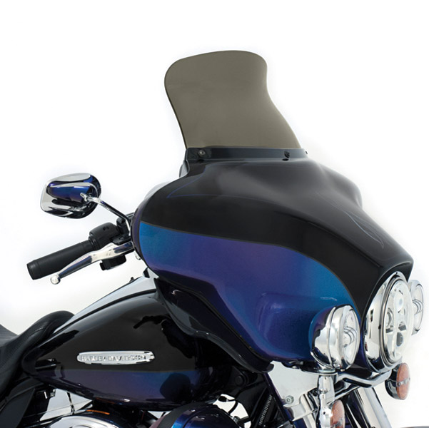 Memphis Shades 9″ Smoke Spoiler Windshield