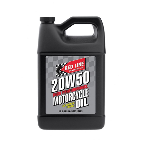 Red Line Synthetic 20w50 Motorcycle Oil