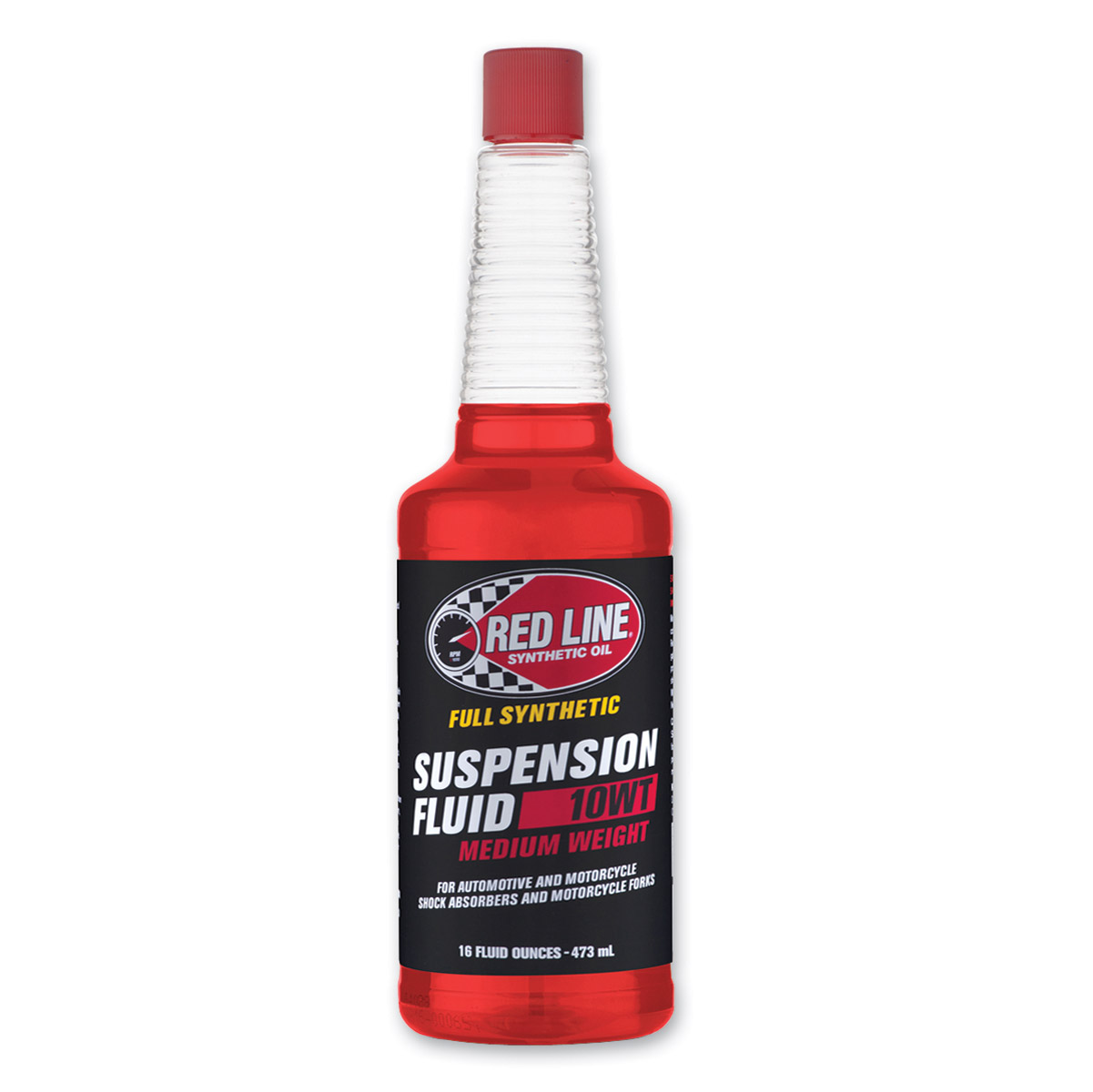 Red Line Suspension Fluid Medium 10W 16 oz